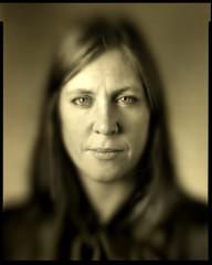 Heidi (calceman) Tags: brasslens deardorff 8x10 fomapan magnifyingglass