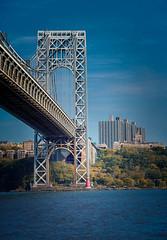 George Washington Bridge (Peter Smejkal) Tags: georgewashingtonbridge hudson newyorkcity