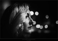 Film Noir VIII (Passie13(Ines van Megen-Thijssen)) Tags: filmnoir filmnoirmood film noir mood portrait portret woman dark night bokeh blackandwhite bw sw zw zwartwit fineart canon sigma35mmart weert netherlands inesvanmegen inesvanmegenthijssen passionphotography
