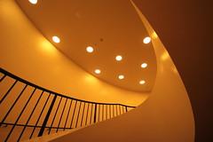 Das gelbe vom Ei (Elbmaedchen) Tags: staircase treppenhaus treppenauge elbphilharmonie hamburg kleinersaal architektur architecture konzerthaus concerthall
