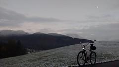 erster Schnee 2016/17 (twinni) Tags: mw1504 07112016 bike biketour salzburg austria österreich beachcruiser winter schnee busch müller buschmüller luxosb luxos led bm spiegel rückspiegel cyclestar