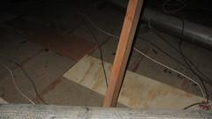 IMG_1441 attic scuttlehole area to northwest over ducting (ceztom) Tags: march 14 2016 home goleta new scuttlehole attic