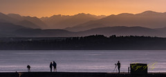 Sunset Over the Olympics from Fort Casey.jpg (Eye of G Photography) Tags: pugetsound usa olympicmts sunsetsunrise sunset northamerica gunimplacements silhouette fortcasey whidbeyisland places washingtonstate wow