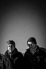 Chilly walk (Per sterlund) Tags: bnw bw baw blackandwhite monochrome mono outdoor people 2016 walking street streetphotography stockholm sweden scandinavia schweden suecia sude svartvitt gatufoto strasenfotografie fotografiadistrada fotografadecalle panasonic