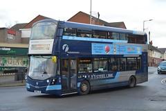 35136. SM65 LNA: First South Yorkshire (chucklebuster) Tags: first south yorkshire maltby x1 steel link wright streetdeck sm65lna