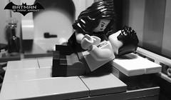 The Dark Knight  Heir to the Demon  Prologue  Part 27 (Supremedalekdunn) Tags: lego batman the dark knight volume 4 heir demon ras alghul robin red hood dick grayson nightwing jason todd tim drake bruce wayne dcsg thefilmgmr thelegoguy legosuperheroes superman justice league wonder woman green lantern indoor talia blackandwhite monochrome ohhhhhhh yeahhhhhh romance love is air