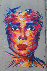 Face by Manyoly (Rick & Bart) Tags: paris france city urban rickvink rickbart canon eos70d streetart graffitiart urb urbanart graffiti mural manyoly face ruedecandie