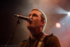 Brian Fallon-37 (redrospective) Tags: 2016 20161116 brianfallon london november2016 o2forumkentishtown closeup concert gig man microphone music people spotlights
