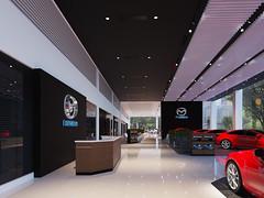 2 (Stephen Trinh) Tags: noi that showroom kia mazda interior design