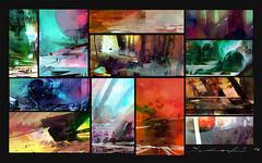 Color Thumbnails! (Zhillustrator) Tags: thumbnails thumbnail sketch sketches digital art digitalart digitalpainting painting