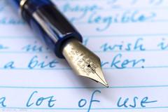 Delta Unica, Visconti Turquoise, Atoma (kitchener.lord) Tags: pens delta unica nib ink viscontiturquoise stationery atoma 2016 xf27 macro