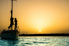 exodus (lanz drekniovich photography) Tags: sunset sailboat sail sky blue girl shade nature world travel trip boat water ocean sea lake sun clouds beautiful colors life luxurylife