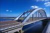 Abandoned Bridge - Verlaten Brug (@2008) Tags: bridge holland abandoned netherlands ship nik vreeswijk nieuwegein lek vianen lekbrug a900 dutchweather niksoftware sal20f28 viaansebrug slikypix
