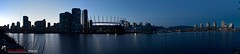 False Creek Panorama (Mirco Millaire Photography) Tags: city blue panorama skyline vancouver stadium wide casino seawall yaletown falsecreek edgewater scienceworld bcplace plazaofnations canon1740f4l canon60d