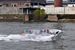 Action...!!! :-) (GelsenBuer) Tags: men water speed port boot harbor boat wasser action harbour spindrift hafen duisburg thw mnner geschwindigkeit schnellboot binnenhafen gischt federalagencyfortechnicalrelief technischeshilfswerk duisburgerhafen duisport inlandport rasanz