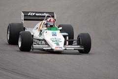 1983 Williams FW08C (autoidiodyssey) Tags: cars race vintage williams f1 formulaone 1983 formula1 montereyhistorics fw08c 2011rolexmontereymotorsportsreunion