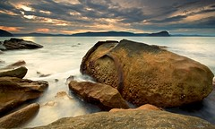 The Wild Hippo (James.Breeze) Tags: ocean blue sunset seascape west landscape rocks australia nsw hippo palmbeach hawkesburyriver sharkisland northernbeaches canonef1740mmf4l barrenjoeyheadland hipporock