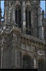 Detail (Ubierno) Tags: espaa tower spain europa europe cathedral gothic catedral medieval unesco toledo effect vidriera stainedglasswindow campanario orton tresculturas lamancha vitral castilla efecto castillalamancha gtico sefarad toletum edadmedia catedraldetoledo worldheritagecity juanguas oledo ubierno patriomoniodelahumanidad medievalages alvarmartnez toletvm rodrigoalonso petruspetri hanequinofbrussels enriquedeegascueman juanalemn vascodetroya juandecuesta alejoximnez