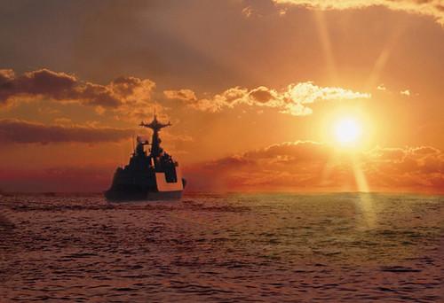 2009년11월6일 해군 함정기동