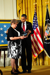 White House Medal of Honor ceremony for Specialist 4 Leslie H. Sabo Jr. [Image 11 of 18]