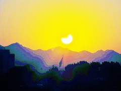 Solar Eclipse 2012 Sunset (666isMONEY   & ) Tags: saved sunset arizona love delete10 delete9 delete5 delete2 deleted7 tucson delete6 saved2 8 delete3 pride delete rage delete4 deleted envy delete11 2012 solareclipse ignorance covetousness delete12