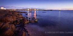 Clear winter skies (Images by Ann Clarke) Tags: longexposure sunrise reflections dawn australia southaustralia portlincoln eyrepeninsula june2012 wwwimagesbyannclarkecomau