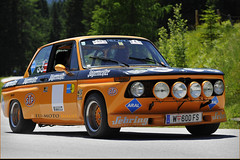 BMW 2002 Tauplitzalm Bergpreis 2012 classic sports cars Hill Climb Austria Copyright B. Egger :: eu-moto images 7715
