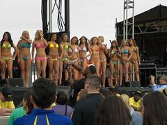 Preakness Bikini Contest (cmfgu) Tags: girls horse md women contest maryland baltimore bikini pageant bathingsuit thoroughbred pimlicoracetrack marylandjockeyclub 138thpreaknessstakes
