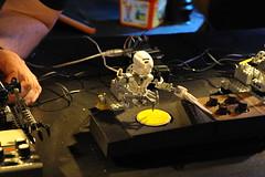 DSC_2920 (Opificio Sonico) Tags: lego drum live sonic robots synth bionicle coron ableton arduino acito amdek opificiosonico toamataband