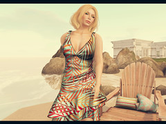 New at FaMESHed June (Janice Jupiter) Tags: summer beach digital blog 3d mesh avatar style cheeky sl secondlife virtual bang pea valentina fameshed