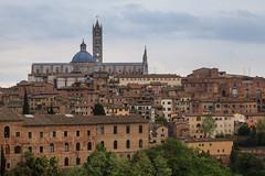 Vue de Sienne en Toscane (Jonathan Haider) Tags: italy architecture italia cathedral cathédrale tuscany siena toscana toscane italie sienne duomodisiena cathédralenotredamedelassomptiondesienne