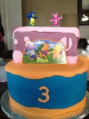 Backyardigans (Sweet Eden) Tags: birthdaycake backyardiganscake