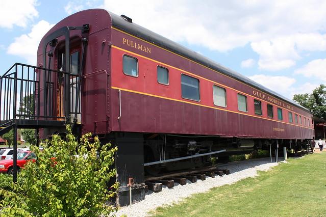 Judge Milton Brown Pullman Railcar - Jackson, TN