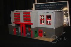 FDNY Rescue 3 (coghilla) Tags: house station fire lego modular fdny moc rescue3