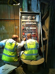On site replacement of a PLC