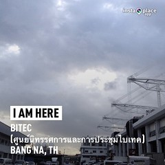 #instaplace #instaplaceapp #instagood #photooftheday #instamood #picoftheday #instadaily #photo #instacool #instapic #picture #pic @instaplacemobi #place #earth #world  #thailand #TH #bangna #bitecศูนย์นิทรรศการและการประชุมไบเทค #street #day