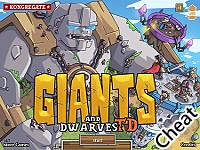 矮人與巨神兵塔防:修改版(Giants and Dwarves TD Cheat)