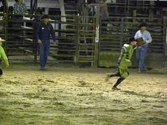 DSCN1915 (Barbwire Gypsy) Tags: cowboys bull riding bullfighter april rodeo rider 2012 riders ksa bullfighters blakehunter