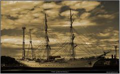 the Gorch Fock I (seanavigatorsson) Tags: travel sea sailor tallship stralsund steeringwheel gorchfock gorchfocki