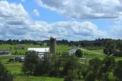 It's All About The Clouds! (socaltoto11) Tags: clouds landscapes day cloudy country farming barns greenery silos waynecounty canonphotography applecreekohio countrylandscapes amishcountryohio spiritofphotography