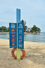 Information Signs (chooyutshing) Tags: signs warning singapore sentosa information silosobeach