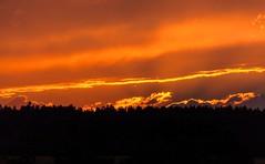 fantasy (Woodpeckar) Tags: light sunset shadow red sky orange sun yellow clouds germany bayern neighborhood ffb eos5d woodpeckar 5dii