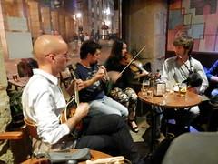 Session (rgrant_97) Tags: music musicians spain pipes mandolin accordion galicia fiddle piccolo bouzouki gaita bodhrain