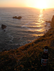 My Beer, North Of Brookings, Curry County, Oregon (Peter Kleinhenz11) Tags: ocean county sunset beer oregon sam adams pacific curry brookings
