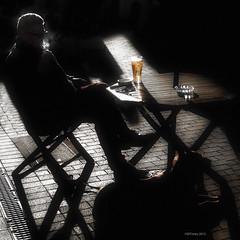 Total Contentment (Steve Corey) Tags: dog english pipe norman spanish pubs countycork traditionalmusic kinsaleireland colorfulshops finebeer stevecorey totalcontentment foodcapitalofireland