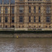 Palace of Westminster, detail of concrete bed