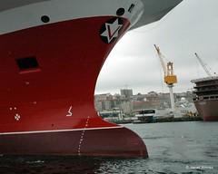 Bulbos de buques (22) (javier_cx9aaw) Tags: de shipyard shipbuilding bulbos proa puertovigo industrianaval astillerosconstrucciones cxaaw