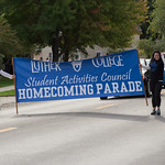 """<b>Homecoming Parade 2013</b><br/> The 2013 Homecoming Parade took place on Saturday, October 5. Photograph by Jaimie Rasmussen<a href=""""http://farm6.static.flickr.com/5449/10127931566_d61d401bfc_o.jpg"""" title=""""High res"""">∝</a>"""