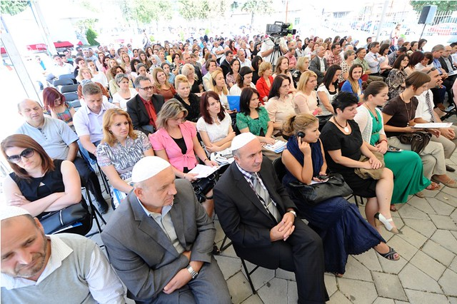 Awareness-raising event on domestic violence in Bogovinje, fYR Macedonia