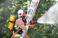 Water life saver (Si Longworth (Army Photographer)) Tags: water h2o fireman firemen